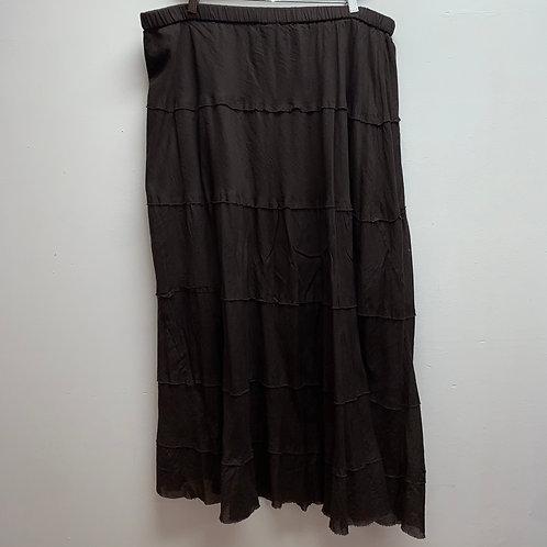 Allison brittney brown skirt