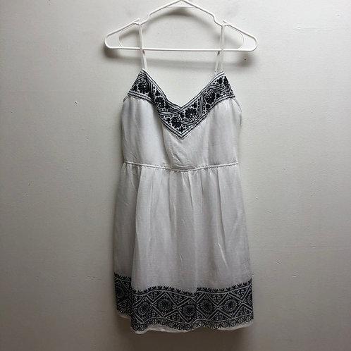 Black & White Spring Time Dress