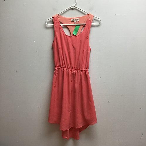 SOLD-Pink rose pink dress