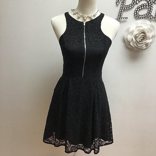 Black Lace Express Dress-Size 2