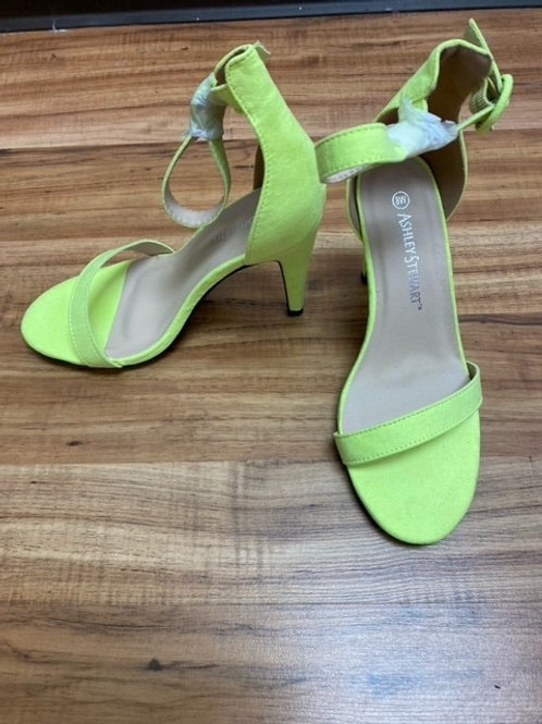 Lime Green Open toe sandals