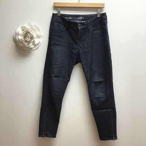 Loft Curvy Skinny Ankle Jeans- Size 6