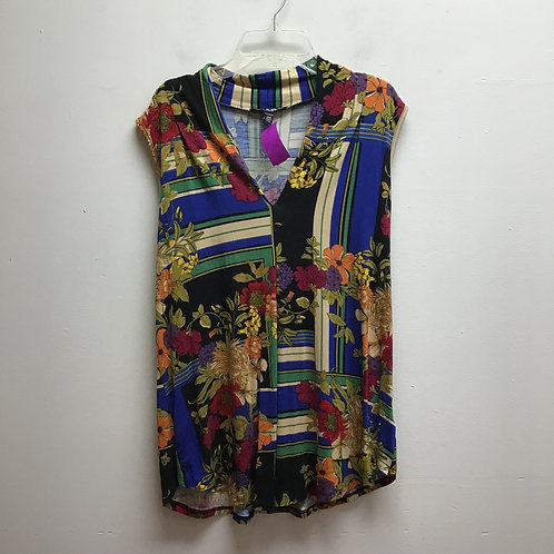 Cable & gauge multicolored/ patterned top
