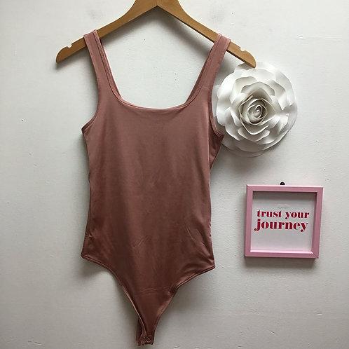 SOLD-Abercrombie & Fitch Mauve bodysuit
