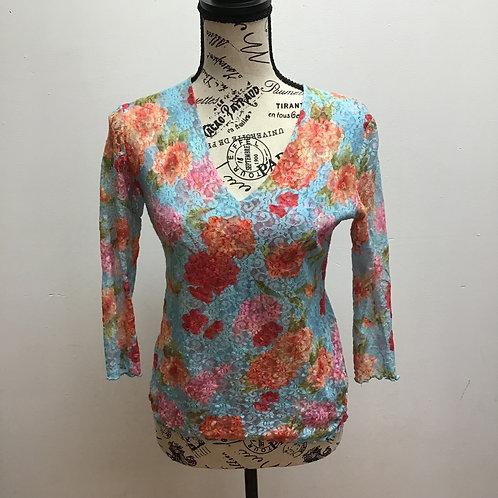 Pō floral lace top