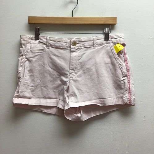 Gap light pink shorts with pink embroidery