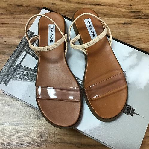 NWT Steve Madden Clear Strap Sandals Sz 8