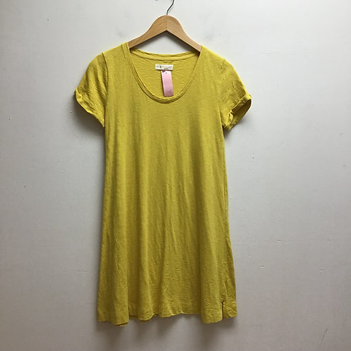 Lou & grey for loft yellow dress