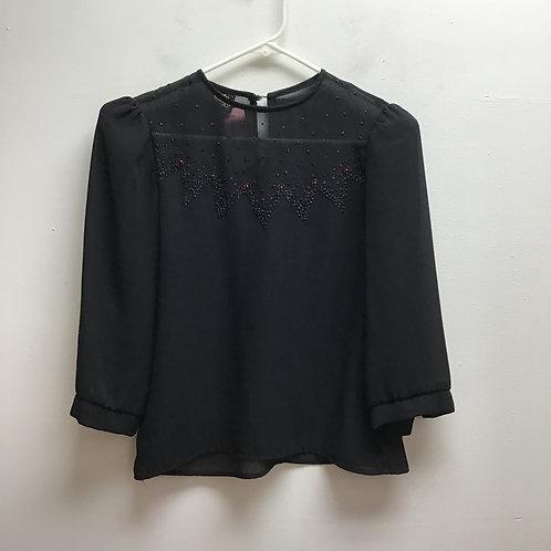 Judy knapp black top size medium