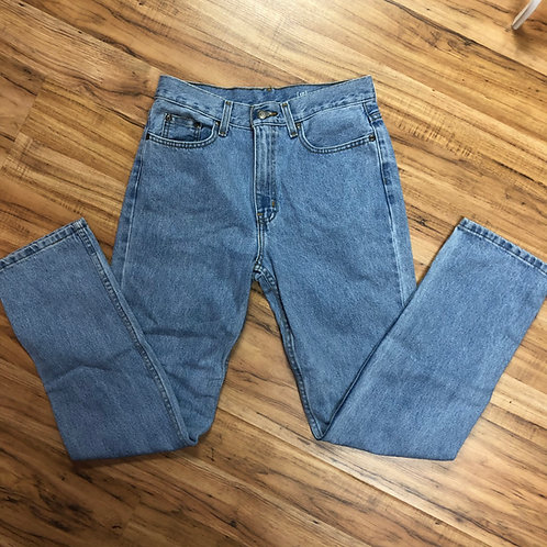 George light wash jeans