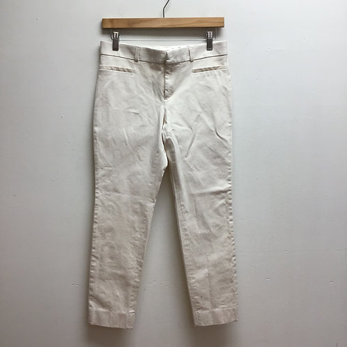 Banana republic Sloan cream trousers