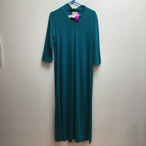 Coldwater creek teal dress