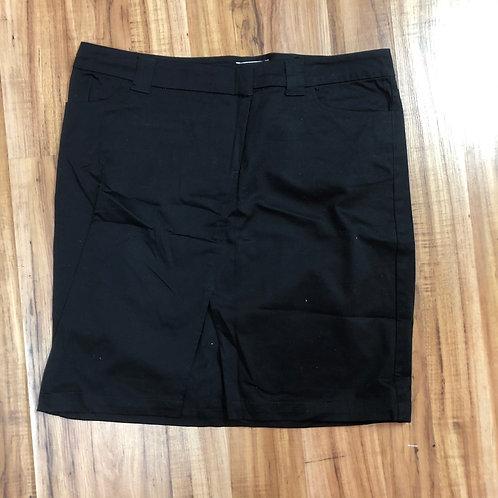 Xhilaration black slit skirt
