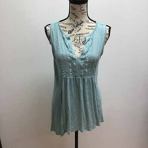 SOLD! Cable & gauge blue tank