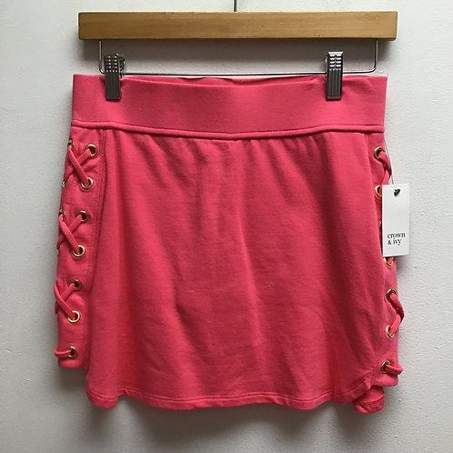 NWT crown & ivy pink skort