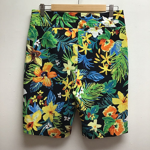 Tropical Print Shorts size 12