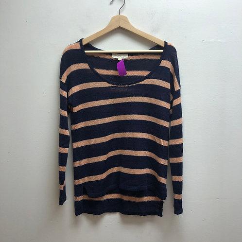 Olive & oak striped sweater