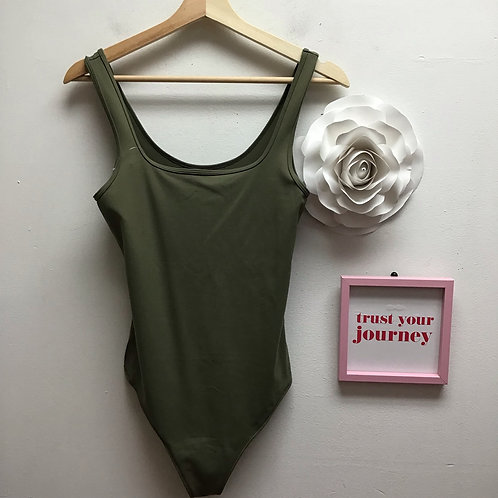 SOLD!! Abercrombie & Fitch green bodysuit