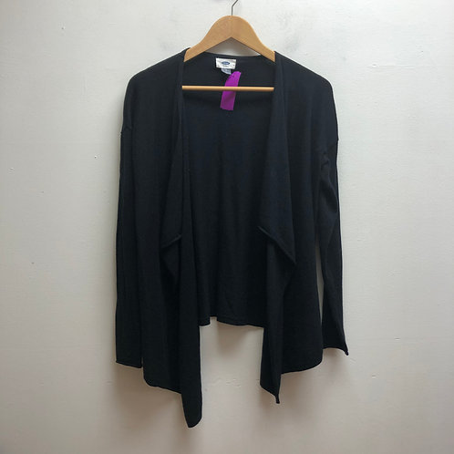 Old navy black open front cardigan