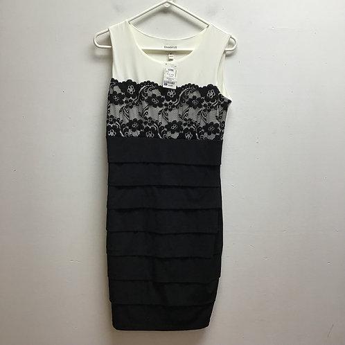 Enfocus studio black & white dress
