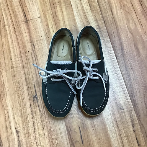 Lands end sperry top side deck shoes