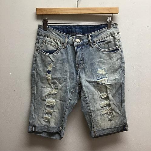 Time & tru distressed Bermuda shorts