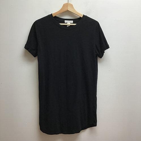 Forever 21 black t-shirt dress
