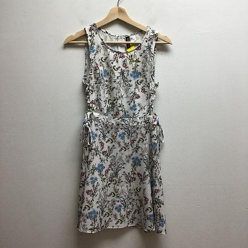 Divided floral dress