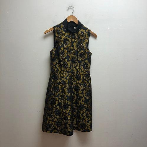 Rachel Roy black & gold dress