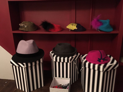 Unpacking the hats