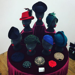 PYEWACKET MILLINERY DISPLAY