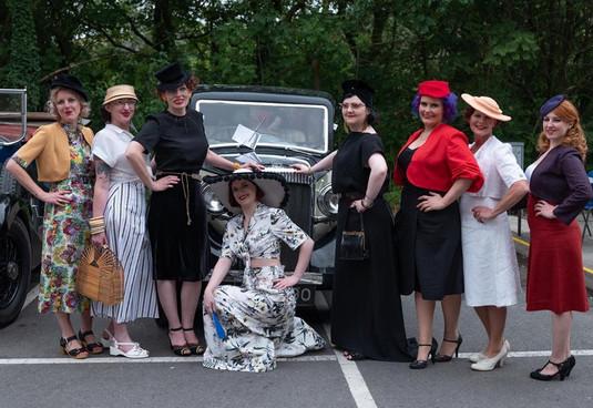 Yanks Fashion Show 2018 Group shot