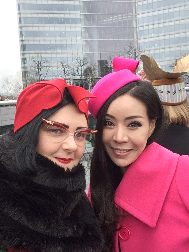 PYEWACKET & YOONEY CHOI MILLINERY