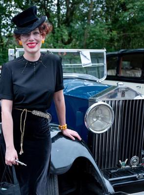 Marlene Black Top Hat