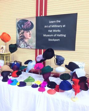 HAT AMBASSADOR FOR THE HAT WORKS MUSEUM