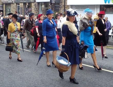 Yanks 1940s Weekend Parade 2018