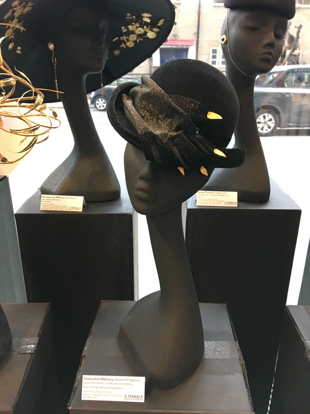 """PYEWACKET MILLINERY """"NOW IF SCHIAP HAD WORKED WITH RENE..."""""""