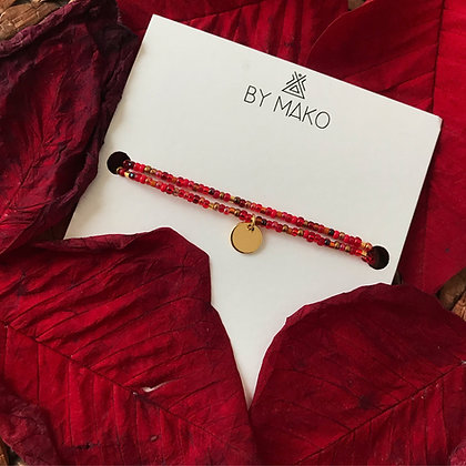 COLLIER RUBY