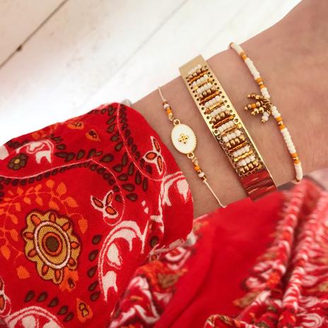 accumulation bracelets