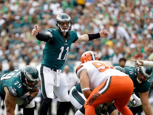"Report: Eagles have ""already received aggressive trade offers"" for Carson Wentz"