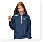 silicon slopes blue hoodie swag