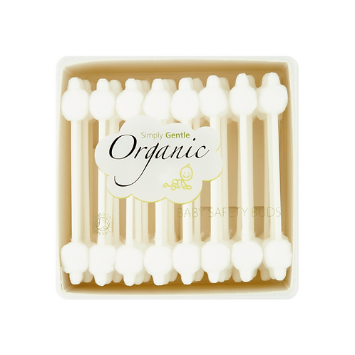 Organic Cotton safety paper stem buds top