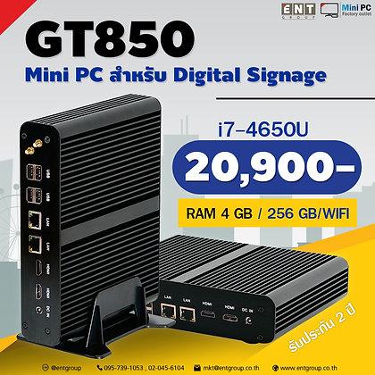 MiniPC GT850 i7 4650U RAM4GB / SSD256GB /Wifi
