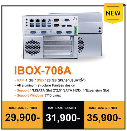 Mini PC - 708A i5 6500U RAM4 SSD128 Wifi