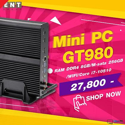 Computer Mini PC GT980 Core i7-10510U ( RAM DDR4 8 GB/M-sata 256 GB/WIFI )