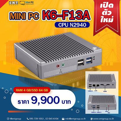 """Mini PC K6-F13A (RAM2/SSD64GB)""""K6โฉมใหม่"""""""
