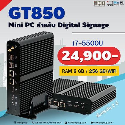 MiniPC GT850 i7 5500U RAM8GB / SSD256GB /Wifi