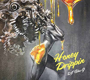 "DJ SHU-G x Ibrahim Baaith ""Honey Drippin"" / mix CD ($16.00)"