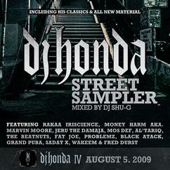 dj honda street sampler (mixed by dj shu