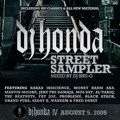 dj honda street sampler (mixed by dj shu